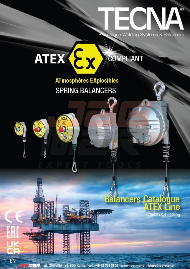 Katalog balansery TECNA ATEX 2021 (ENG)